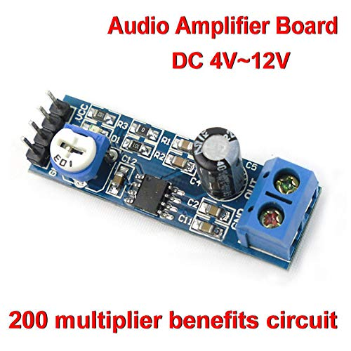 zNLIgHT Eletronic Digitale Componenten | LM386 DC 4V-12V Mini Micro Audio Geluid Frequentie Versterker Board Mono AMP Module OneSize Onecolor