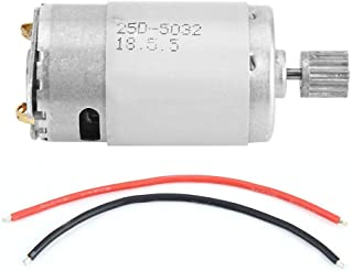 Dilwe RC Car Motor, 390 Brushed Motor Original Accessory Part for XLH 9125 1/10 Scale RC Truck