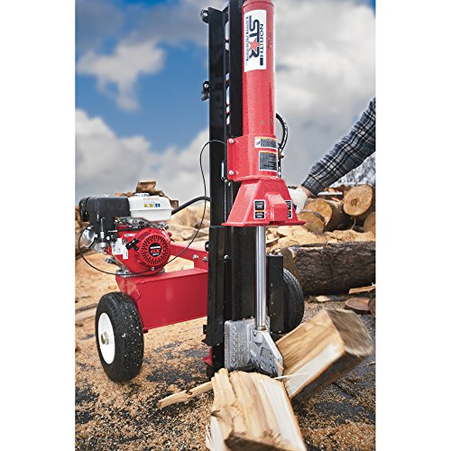 NorthStar 37-Ton Horizontal/Vertical Log Splitter, 270cc Honda GX270 Engine