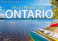 Facettenreiches Ontario (Tischkalender 2022 DIN A5 quer): Hanna Wagner zeigt Monat fuer Monat die beeindruckende Vielfalt der ostkanadischen Provinz Ontario. (Monatskalender, 14 Seiten )