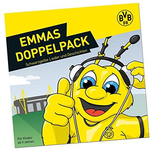 Borussia Dortmund Kinder Spielzeug BVB-Emma Doppel-CD, Schwarzgelb, One Size, 16320100