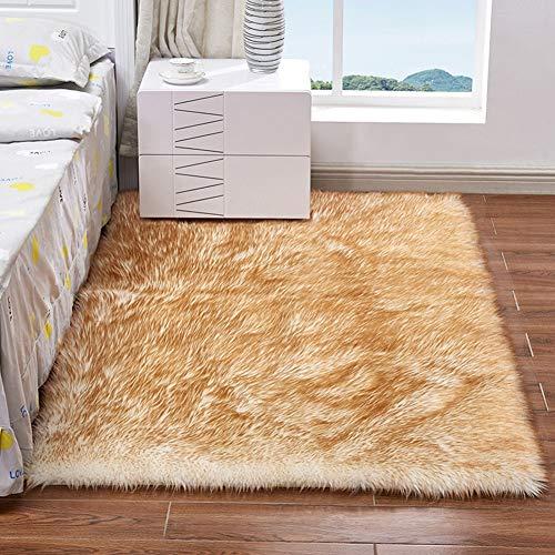 CUICI zachte Shaggy nachtkastje tapijten kinderen spelen Mat kinderkamer tapijt vloermat wasbaar dikke stapel tapijt Home Decor, pluizig gebied tapijten