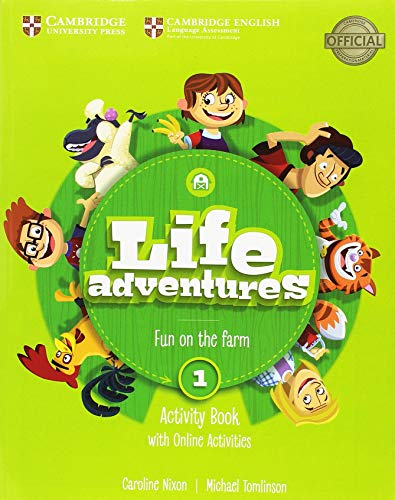 Life Adventures Level 1 Activity Book with Home Booklet