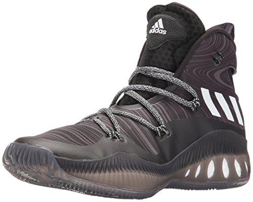 adidas Men's Shoes | Crazy Explosive Basketball, Black/Black 1/White,...