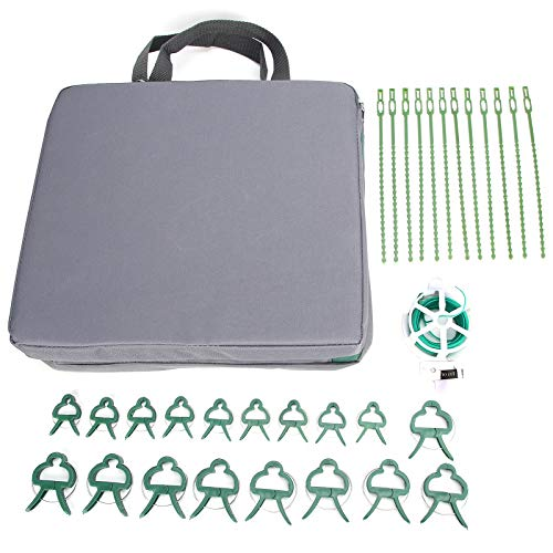 Cosiki Clips de jardinería, Rodilleras de jardín de Espuma viscoelástica de Textura Suave, Rodilleras para Mantenimiento de Trabajos de jardinería