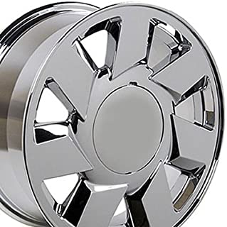 OE Wheels 17 Inch Fits Cadillac ATS CTS DTS STS DTS Style CA01 Chrome 17x7.5 Rim Hollander 4553
