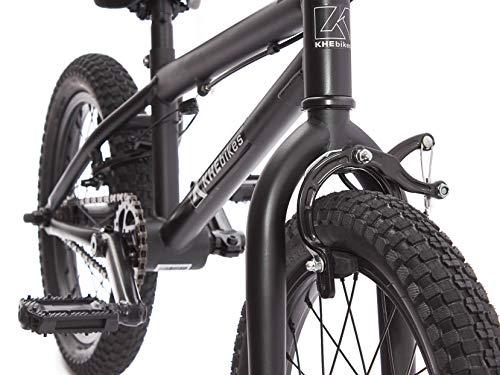 KHE BMX Fahrrad Barcode CS 16 Zoll schwarz nur 10,0kg! - 2
