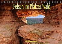 Felsen im Pfaelzer Wald (Tischkalender 2022 DIN A5 quer): Seltene Felsen im Suedpfaelzer Wald (Monatskalender, 14 Seiten )