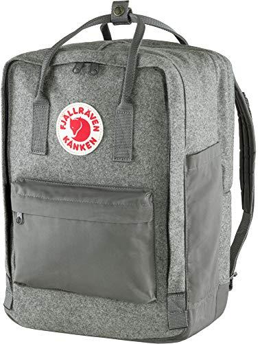 "Fjallraven, Kanken Re-Wool Laptop 15"" Backpack, Granite Grey"