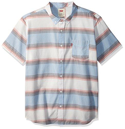 Levi's Herren Palette Button Down Hemd, Marshmallow, X-Groß