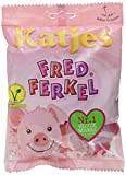Katjes Fred Ferkel – Kultige Schaumzucker Süßigkeiten in Schweinchen-Form – Leckere Veggie-Nascherei (16...