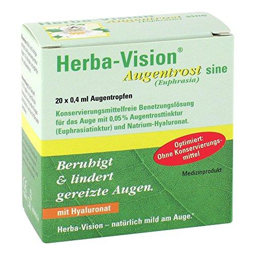 Herba-Vision Augentrost Sine Augentropfen, 20X0.4 ml