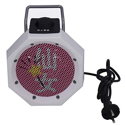 220V 500W tragbare Haushalt Mini Cartoon Desktop-Heizung Lüfter Heizung elektrische Heizung Büro Schlafzimmer Schlafsaal EU-Stecker