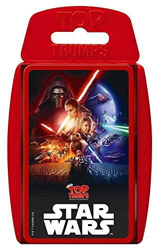 Winning Moves 62110 Top Trumps - Star Wars Episode 7, Trumpfspiel