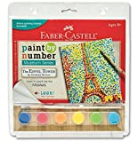 Faber-Castell Paint by Number Museum Series - The Eiffel Tower by Georges Seurat
