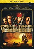 Pirates of Caribbean: Curse of Black Pearl (Three-Disc Blu-ray / DVD Combo in DVD Packaging)
