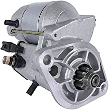 DB Electrical SND0127 Starter For Chevy Prizm 1.8L 1.8 98 99 00 01 02 /Toyota Corolla 1.8 1.8L 98 99 00 01 02/94857220 /28100-0D020 /228000-6660/1998 1999 2000 2001 2002