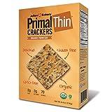Julian Bakery Primal Thin Crackers | Parmesan | USDA Organic | Gluten-Free | Grain-Free | GMO Free |...