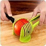 Cortador de papas de plástico cortador de tomate trituradora para frutas vegetales cebolla limón titular de cocina Gadgets herramienta de cocina multifuncional JIADUOBAO