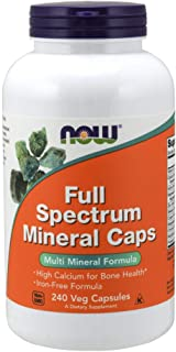 NOW Supplements, Full Spectrum Mineral, 240 Veg Capsules