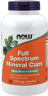 [海外直送品] ナウフーズ   Full Spectrum Minerals 240 Caps