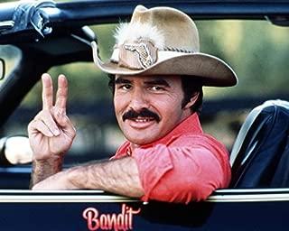 Burt Reynolds Smokey And The Bandit Canvas Classic In Hat Pontiac Trans Am