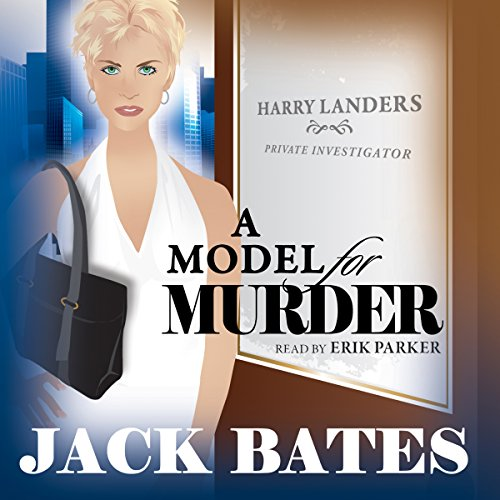 A Model for Murder audiobook cover art