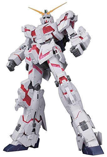 Bandai Hobby Mega Size 1/48 Unicorn Gundam [Destroy Mode] Gundam UC Model Kit Figure
