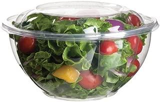 Eco-Products EPSB32 Renewable & Compostable Salad Bowls w/Lids - 32oz. (Case of 150)