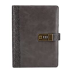 Leather Bound Journal With Combination