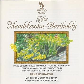 Mendelssohn: Piano Concerto No. 2 and Solo Piano Works