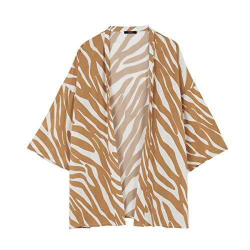 Parfois - Kimono Stones Total Look - Mujeres - Tallas Única - Camel