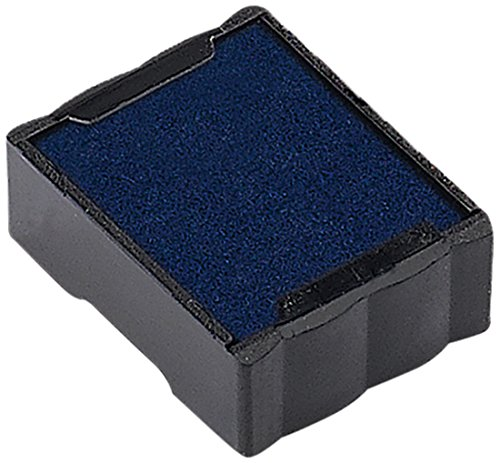 Trodat Ersatzkissen 6/4921 für Printy 4921 – Stempelfarbe blau, Abdruck 12x12mm, 2er-Pack