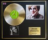 Adele/CD Disco de oro y exhibición de la foto/Ltd. EDICIÓN/COA/21