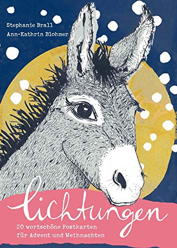 Lichtungen - Postkartenbuch: 20 wortschöne Postkarten für Advent und Weihnachten (Mit Herz und Hand gemacht)