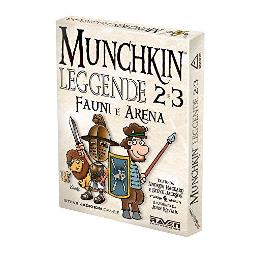 Raven - Munchkin Leggende 2 e 3 - Fauni e Arena