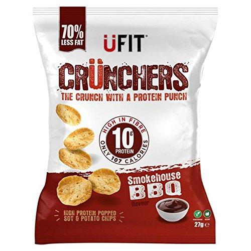 UFit Crunchers Smoke House BBQ 27g