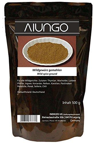 Viungo® Goldline - Wildgewürz gemahlen - 500g