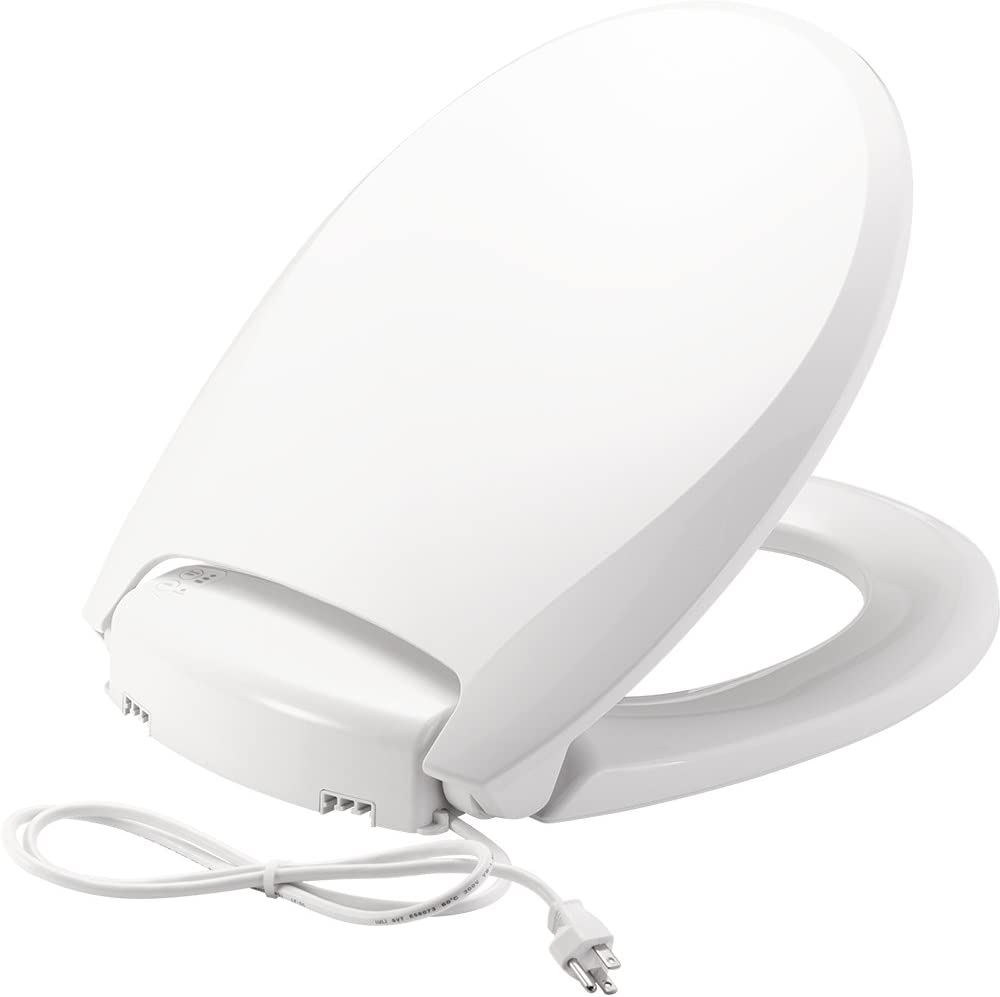 Bemis H900NL 000 Radiance Round Luxury goods Seat Light Heated Night Toilet Max 70% OFF
