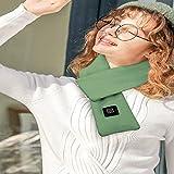 QQAA Foulard Chauffant USB Foulard Doux Rechargeable 3 Réglage De La...