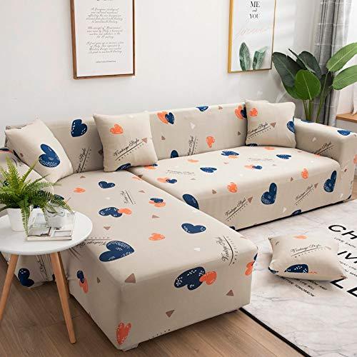 Fundas de sofá Fundas de sofá para Sala de Estar Funda de sofá elástica Funda de sofá seccional elástica A16 1 Plaza