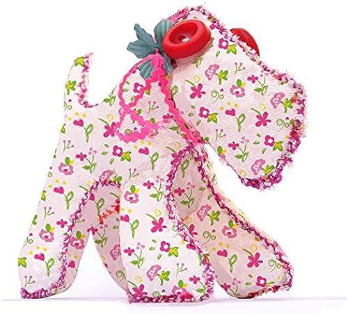Flower Dog - Puppet toy - M2P Make2play
