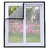 Maran Cats Fensterschutz für Katzen, selbstklebend, Weiß, Mückennetz, halbtransparent, zuschneidbar