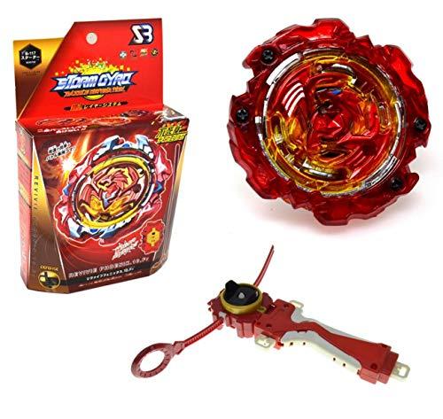 Storm-gyro revivie Phoenix Bey Burst Blade con lanzadores de Mano peonza Juguete con Lanzador de Mano Espada Bey