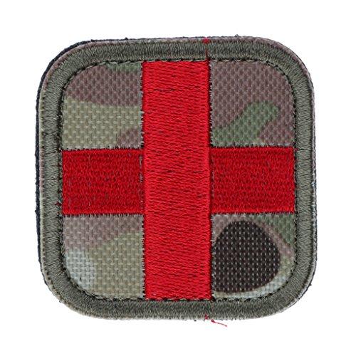 Patch di Primo Soccorso Codera Red Cross per Borsone da Viaggio Sport All'aria Aperta - CP Camo