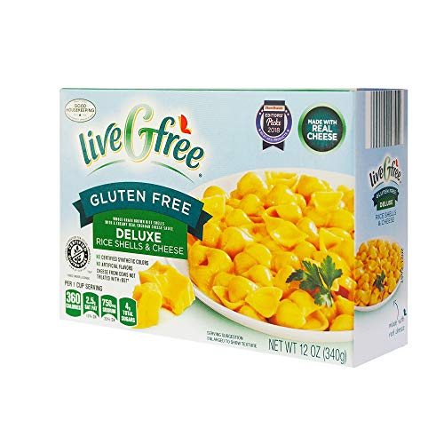 LiveGfree Gluten-Free Deluxe Rice Shells & Cheese - 12 oz.