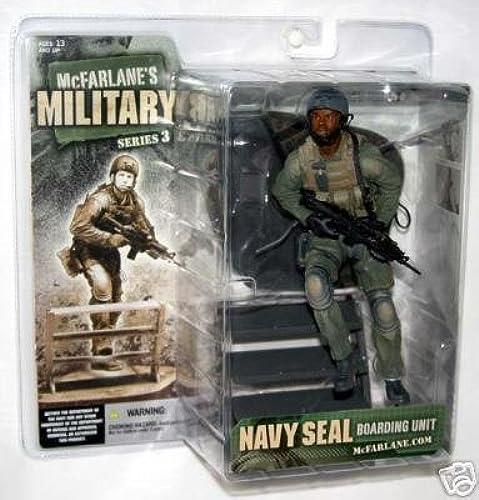 mejor moda McFarlane Military Series 3 Navy Seal Boarding Unit Unit Unit  African-American by Unknown  apresurado a ver