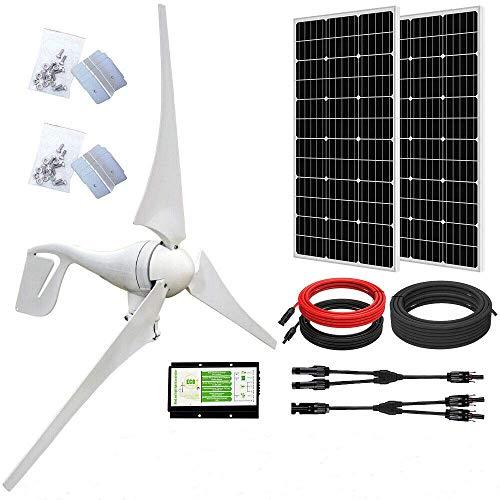 ECO-WORTHY Sistema de Aerogeneradores Solare 400W 500W 600W 12V (600W Kit)