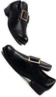 1 Inch Heel Shoe with Buckle Men's Sizes