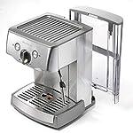 Ariete-1324-Macchina-per-caff-espresso-in-metallo-polvere-e-cialda-ESE-Pompa-15-Bar-Cappuccinatore-montalatte-Vano-scalda-Filtro-1-e-2-tazze-1000-W-15-litri-Acciaio-Inox